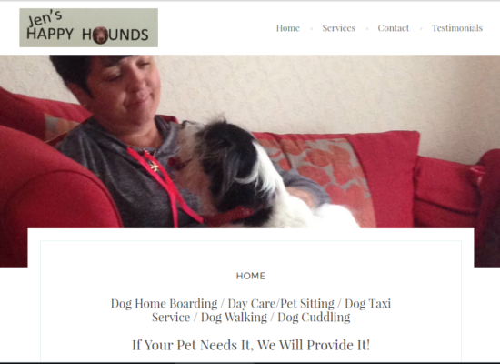 Jen's Happy Hounds Website